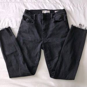Pacsun Black High-Rise Ankle Jegging